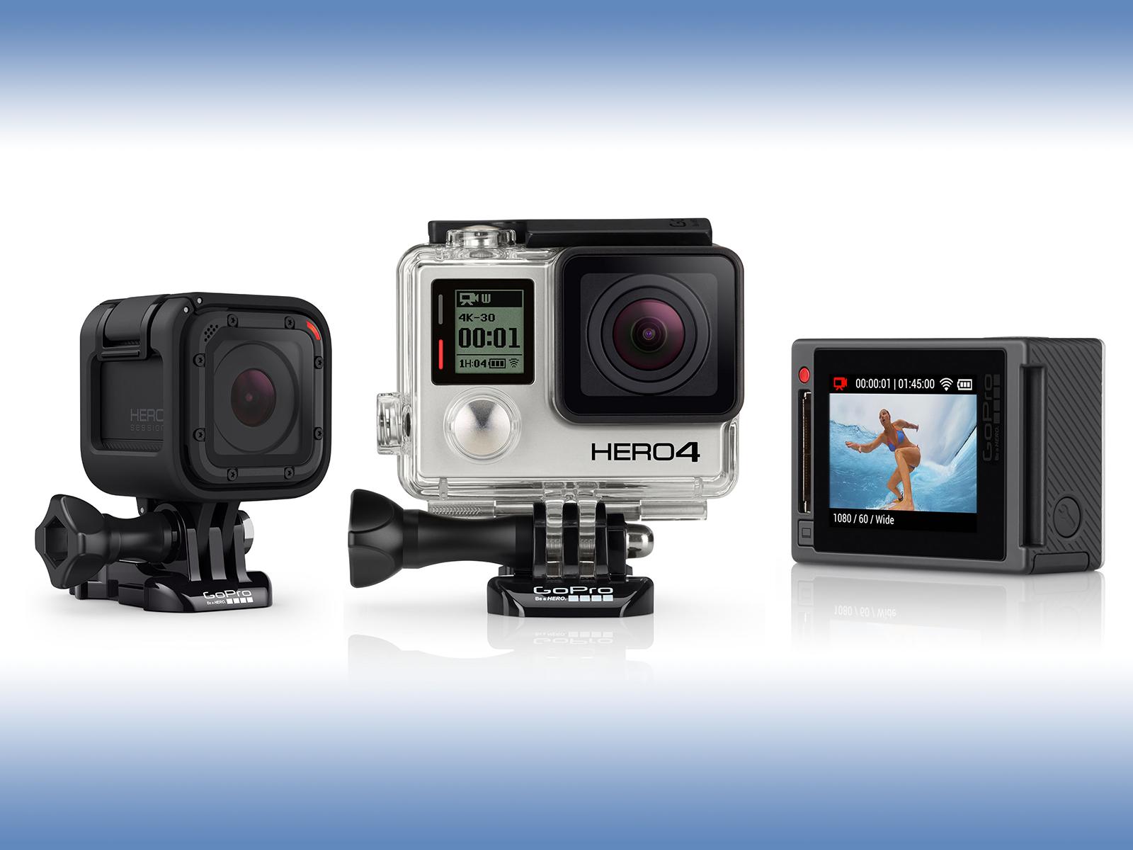 GoProシリーズどれを選べばいい?2016夏版