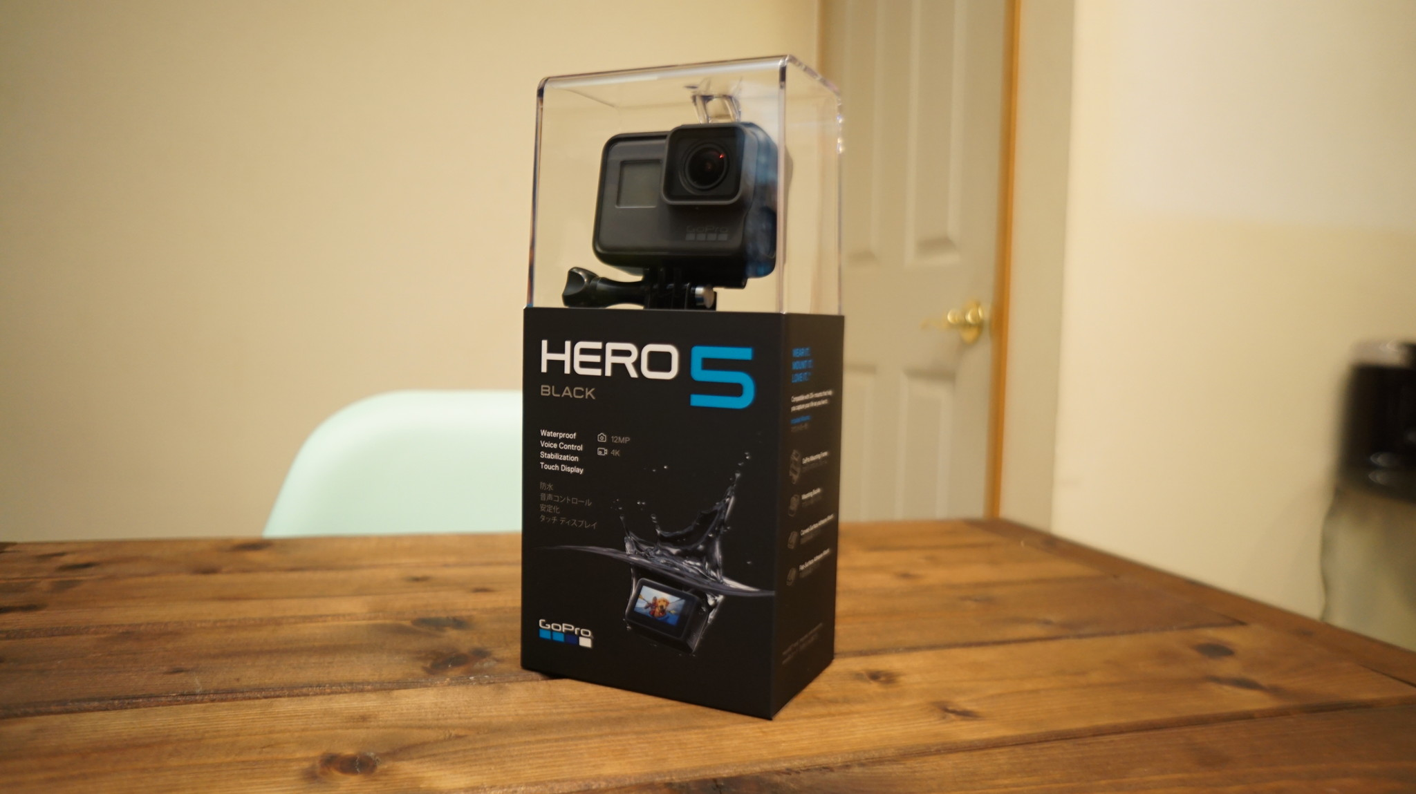 GoPro HERO5 BLACKがやってきた 開封編