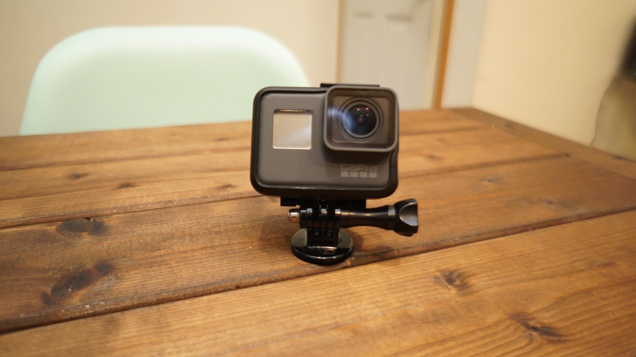 GoPro HERO5 BLACKがやってきた 操作編