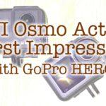ファーストインプレッションDJI Osmo Action vs GoPro HERO7 Black